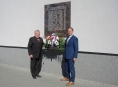Představitelé města Zábřeh uctili květinami památku obětí druhé světové války