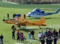 FOTO: Hasiči a letecká služba cvičili na letišti