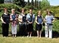 Zábřežští senioři zakončili studium promocí