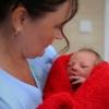 Vedoucí porodní asistentka Anna Holinková se svým týmem letos přivedla na svět už 425 dětí. Autor: Milan Jeřábek, archiv Nemocnice Šumperk
