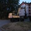 Muž ukradl kolové rypadlo a projížděl se ulicemi Zábřeh   zdroj foto: PČR