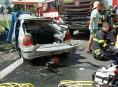 Tragická dopravní nehoda mezi Olomoucí a Šternberkem