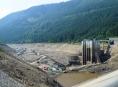 Dolní nádrž elektrárny Dlouhé stráně je ve své historii poprvé bez vody
