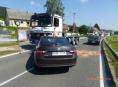 Při havárii tří vozidel na Jesenicku vznikla škoda za téměř půl milionu korun