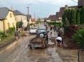 Hasiči v Olomouckém kraji likvidovali desítky událostí po přívalových bouřkách