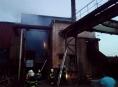 Hasiči na Jesenicku likvidovali požár