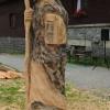 Dřevosochání na Červenohorském sedle    foto: sumpersko.net - M. Jeřábek