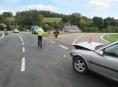 Havárie motorkáře v Bukovicích odhalila alkohol u řidiče osobního vozidla