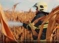 VIDEO.Šest jednotek hasičů likvidovalo v kraji polní požár
