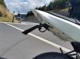 Provoz nad Červenohorským sedlem monitoroval policejní dron