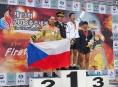 Pět medailí přivezli olomoučtí hasiči ze světových her v Jižní Koreji