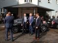 Prezident Miloš Zeman navštívil šumperský Pontis
