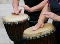 Kurzy afrického a relaxačního bubnování od října na Vile Doris