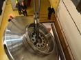 Na Dlouhých stráních instalovali obří oběžné kolo