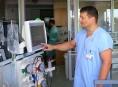 Pacienty v ohrožení života hlídají v šumperské nemocnici nové přístroje
