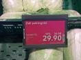 """Potravinářská inspekce zjistila kontaminované """"pekingské zelí"""""""