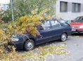 Silný vítr zaměstnává hasiče v celém Olomouckém kraji