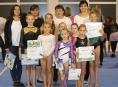Gymnastky GK Šumperk zahájily v říjnu sezónu