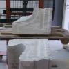 Jak probíhalo restaurování mramorové lavice v Jeseníku zdroj:V.Janků