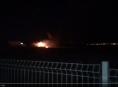 VIDEO.Oheň zničil skákací rampu ve skate parku