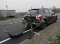 Řidič v Mohelnici se plně nevěnoval řízení