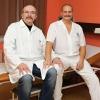 V šumperské nemocnici se blíží Den boje proti rakovině prostaty. Zástupce primáře MUDr. Dušan Fügner a primář MUDr. Martin Kaňa podporují akci Movember foto: archiv šumpersko.net - M. Jeřábek