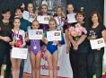 Gymnastky GK Šumperk závodily v Nise, Pardubicích a v Brně