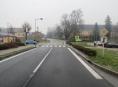 AKTUALIZOVÁNO! Řidič v Bludově srazil ženu jdoucí po vyznačeném přechodu