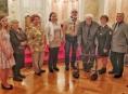 Dobrovolníci z Olomouckého kraje převzali Křesadlo