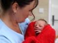 Šumperská nemocnice má své první novoroční miminko