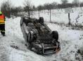 Silné sněžení zaměstnává hasiče v Olomouckém kraji
