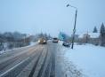 Řidička v Rapotíně narazila do sloupu veřejného osvětlení