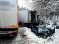 Dopravní nehoda tří vozidel uzavřela stoupání z Mohelnice na Studenou Loučku