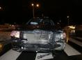 Řidička v Šumperku přehlédla, že na semaforu svítí červená