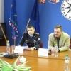 Šumperk - tisková konference objasnění případu loupežného přepadení       zdroj foto: PČR