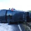 Jesenicko - havárie u Bernartic        zdroj foto: PČR