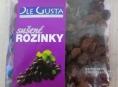 Rozinky s nadlimitním množstvím toxické látky jsou v České republice