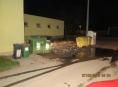 Série úmyslných požárů kontejnerů na Olomoucku