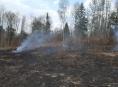 Hasiči v kraji likvidovali několik lesních požárů