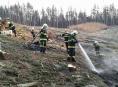 Lesní požáry v kraji nekončí