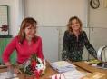 Šumperská místostarostka Irena Jonová přišla poděkovat oceněným učitelkám