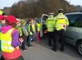 Netradiční silniční kontroly čekaly na řidiče na Šumpersku
