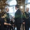 Ve Španělském sále Pražského hradu si ocenění převzali také hasiči z Olomouckého kraje   zdroj foto: ZS OLK