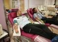 Na modré pondělí policisté darovali krev