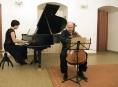 Duo klavíristky Jitky Čechové a violoncellisty Jana Páleníčka v kostele sv. Barbory