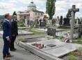 Vedení města Zábřeh uctilo památku obětí druhé světové války