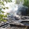 V Šumperku vyhořela budova autobazaru   foto: šumpersko.net - M. Jeřábek