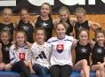 Šumperské gymnastky ladily závodní formu
