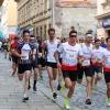 ŠumpeRUN - čelo hlavního závodu       foto: šumpersko.net - M. Jeřábek