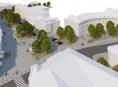 Vítězná studie rekonstrukce náměstí Osvobození